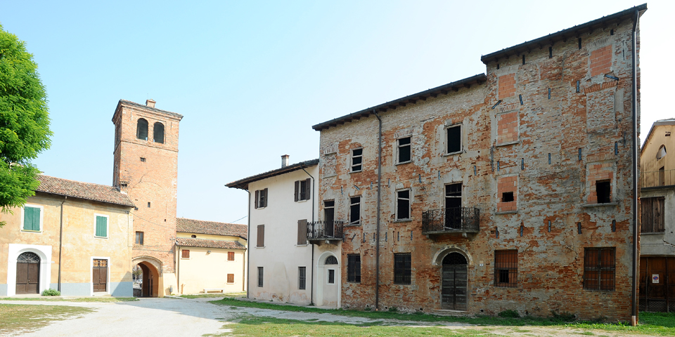 Ostiano, palace in which was the synagogue in the castle © Alberto Jona Falco