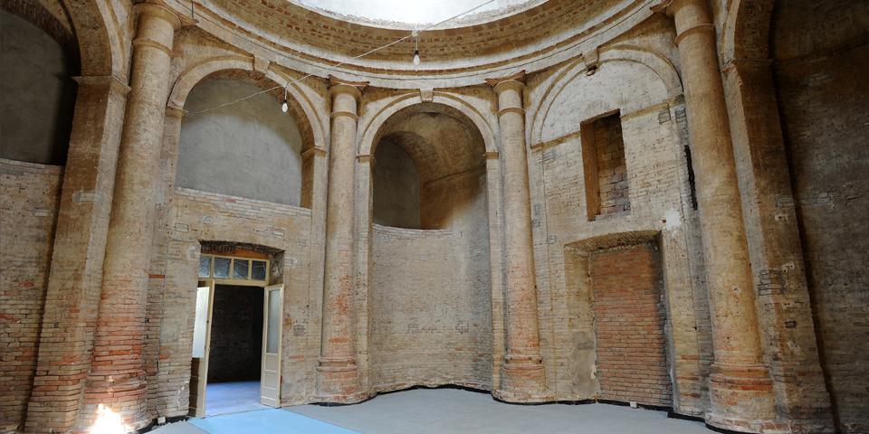 Viadana, interior of the synagogue © Alberto Jona Falco