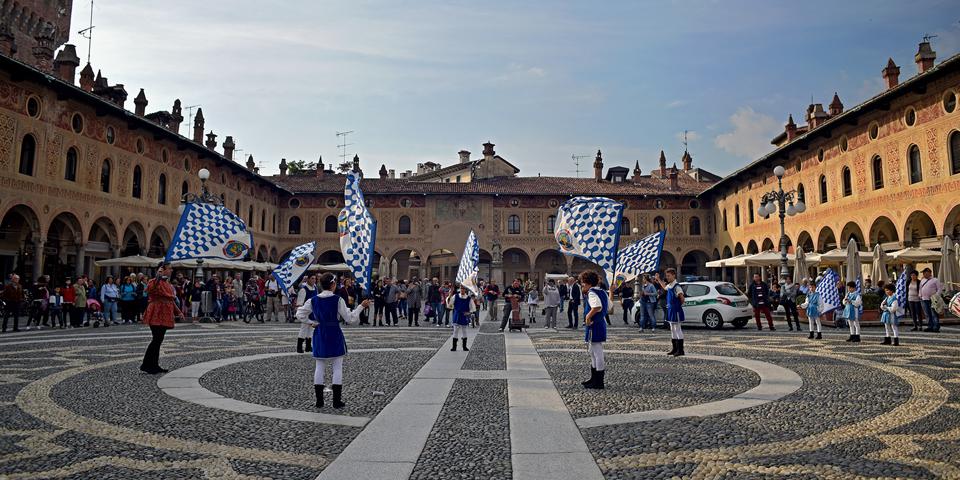 Vigevano, Piazza Ducale © Alberto Jona Falco