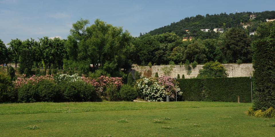 Brescia, giardino del museo di Santa Giulia © Alberto Jona Falco