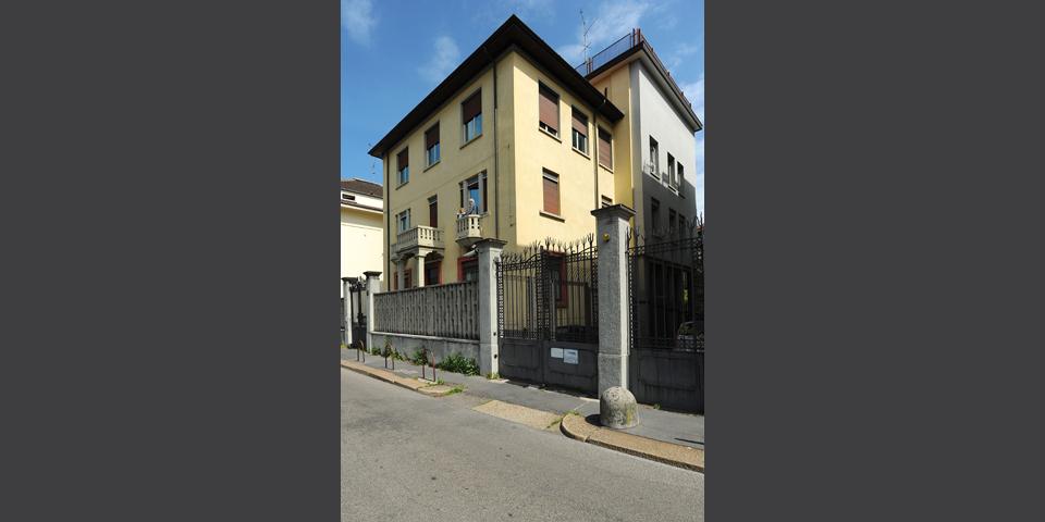 Milano CDEC la palazzina © Alberto Jona Falco
