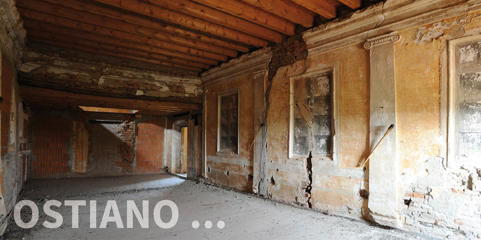 Ostiano, first floor of the area of the building where there was a synagogue in the palace © Alberto Jona Falco
