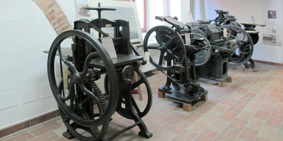 Soncino, la casa degli stampatori ebrei, macchine da stampa © Alberto Jona Falco