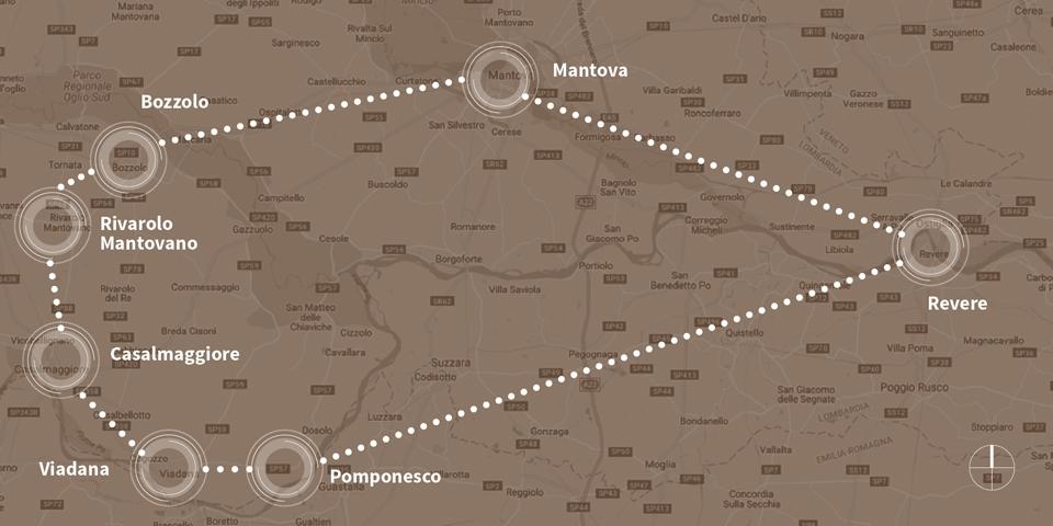 mappa grafica sud est