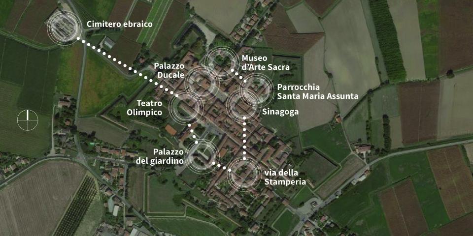mappa grafica sabbioneta
