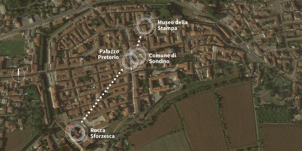 mappa grafica soncino