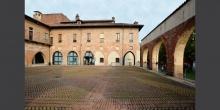Abbiategrasso, il Castello Visconteo, il cortile interno © Alberto Jona Falco