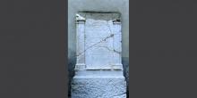 Lodi, plaque with Hebrew inscriptions in the courtyard of the university library 3 © Alberto Jona Falco