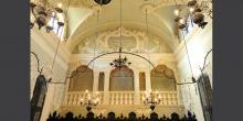 Mantova parete opposta al matroneo interno sinagoga © Alberto Jona Falco