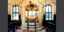 Mantova pulpito - tevÖ all'interno della sinagoga © Alberto Jona Falco