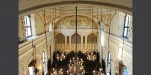 Mantova vista dal matroneo interno sinagoga © Alberto Jona Falco