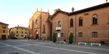 Mortara, la piazza del Duomo © Alberto Jona Falco