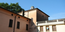 Pomponesco, building with dome that housed the synagogue © Alberto Jona Falco