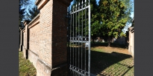 Pomponesco, entrance of the cemetery © Alberto Jona Falco