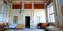 Rivarolo Mantovano, the women's gallery from the interior of the synagogue © Alberto Jona Falco