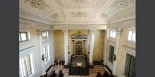 Sabbioneta l'armadio sacro della sinagoga dal matroneo © Alberto Jona Falco