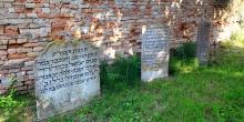 Bozzolo, the three eighteenth-century gravestones © Alberto Jona Falco
