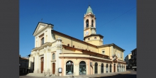 Broni, la chiesa in piazza Garibaldi © Alberto Jona Falco