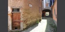 """Ghirla, scorcio del borgo che viene detto il """"Ghetto"""" © Alberto Jona Falco"""