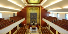 Milan internal central synagogue © Alberto Jona Falco