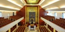 Milano interno sinagoga centrale © Alberto Jona Falco
