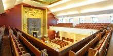 Milano interno sinagoga centrale matroneo © Alberto Jona Falco