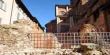 Pavia, resti di edifici romani © Alberto Jona Falco