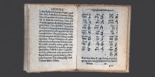 Soncino, pagine interne di un abecedario © Alberto Jona Falco