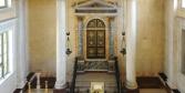 Sabbioneta l'armadio sacro della sinagoga visto frontalmente © Alberto Jona Falco