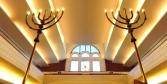 Milano interno sinagoga centrale il matroneo