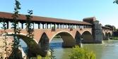 Pavia, il ponte coperto sul Ticino © Alberto Jona Falco